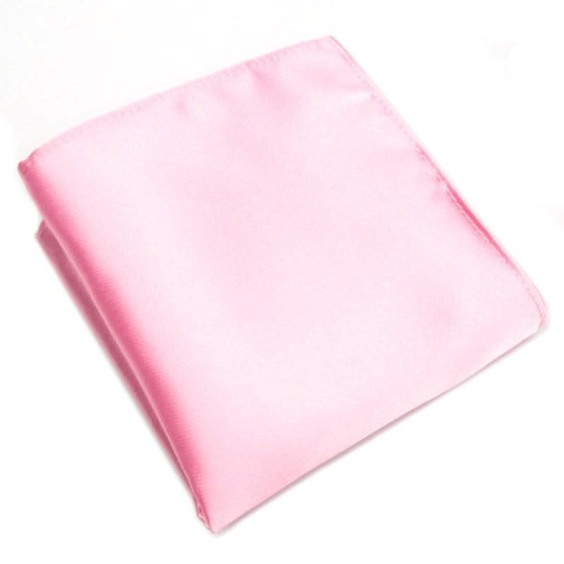 Fox And Luther Baby Pink Pocket Square Men S Jacket Hankies