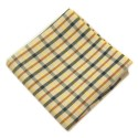 Fox and Luther Electric Yellow Strip Cotton Jacket Square