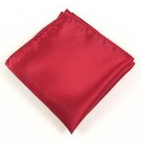 Fox and Luther Deep Red Handkerchief