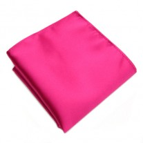 Fox and Luther Bright Pink Men's Handkerchief