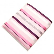 Fox and Luther Pink Striped Handkerchief For Men