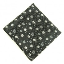 Fox and Luther Daisy Male Pocket Square