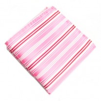 Fox and Luther Pink Rose Stripy Men's Handkerchief