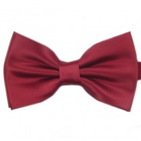 Fox and Luther Burgundy Bow Tie