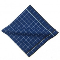 Fox and Luther Deep Blue Sea Premium Pocket Square