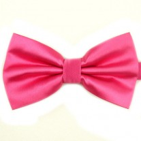 Fox and Luther Pink Bow Tie