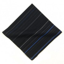 Fox and Luther Fine Stripe Men's Pocket Square