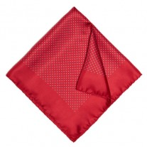 Fox and Luther Red Dotted Jacket Square
