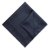 Fox and Luther Finely Dotted Mens Handkerchief