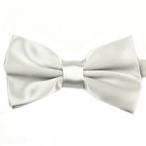 Fox and Luther White Bow Tie