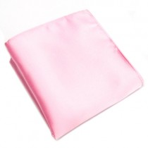 Baby Pink Pocket Square For Men