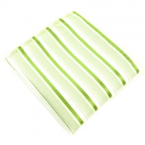 Lime Green Silk Handkerchief For Men