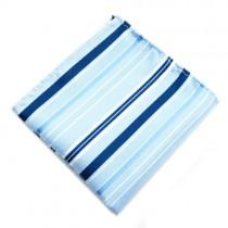 Turquoise Stripe Pocket Square