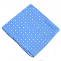 Blue Polka Dot Jacket Square