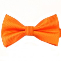 Fox and Luther Orange Bow Tie