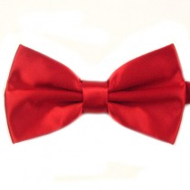 Fox and Luther Red Bow Tie