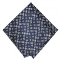 Fox and Luther Dad's Army Pocket Square