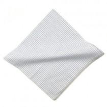 White Stripe Cotton Handkerchief
