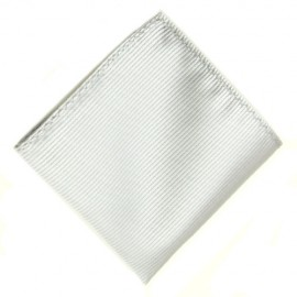 Men's White Handkerchief