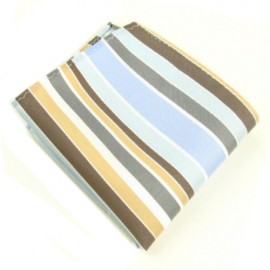 Multi Tone Striped Male Handkerchief