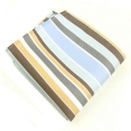 Multi Tone Striped Male Handkerchief