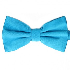 Fox and Luther Blue Bow Tie