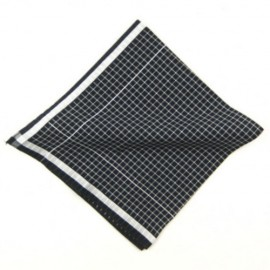 White Squared Male Hankie
