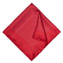 Red Dotted Jacket Square