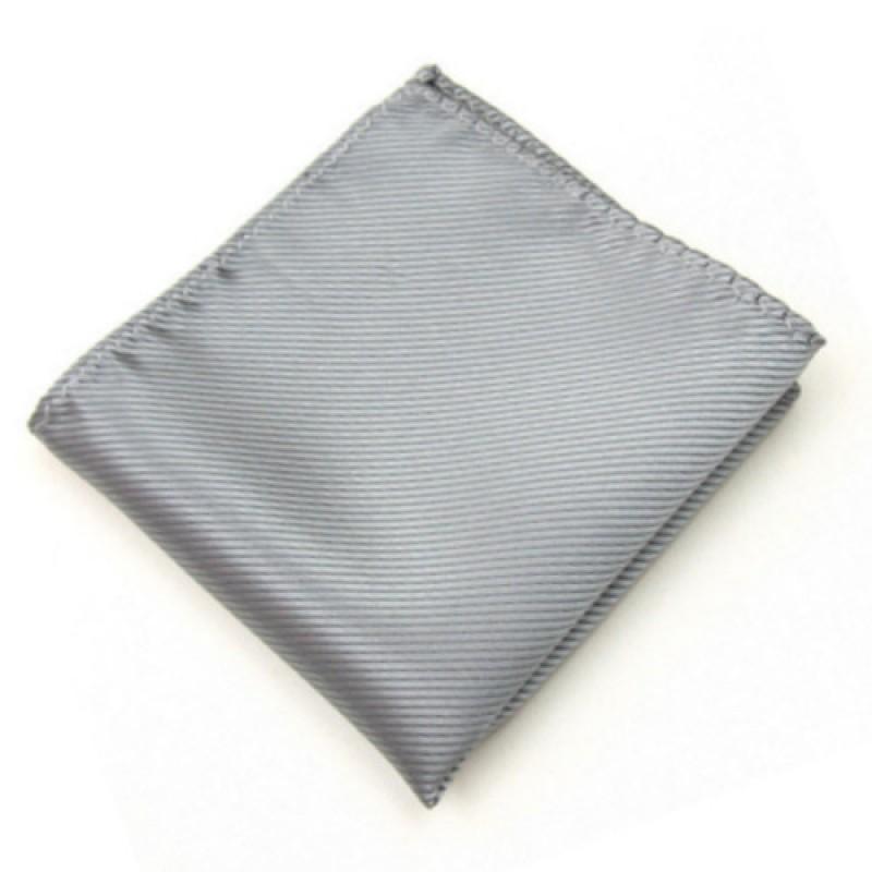 Fine Silver Stripe Jacket Square
