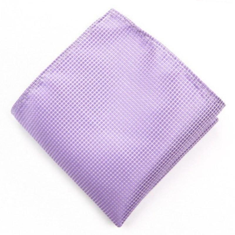Lavender Squared Men's Hankie