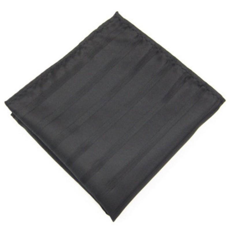 Black and Shiny Men's Handkerchief