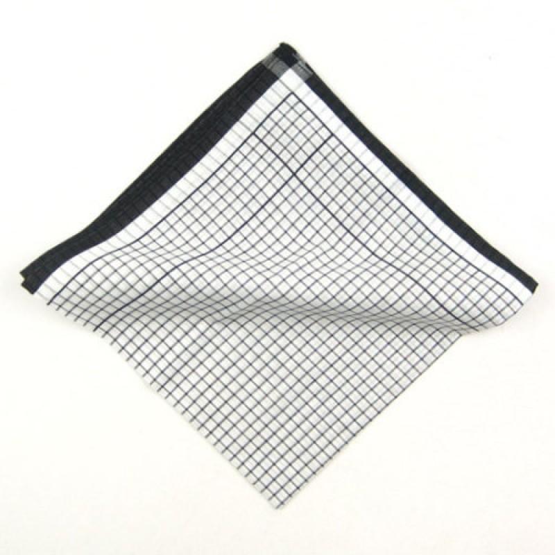 Black Square Cotton Jacket Square